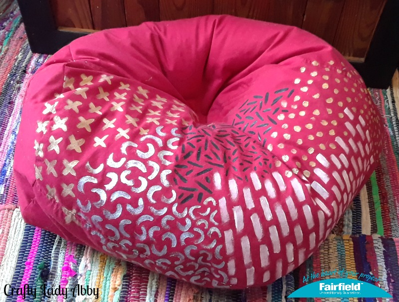 Painted And Refilled Bean Bag Chair Fairfield World