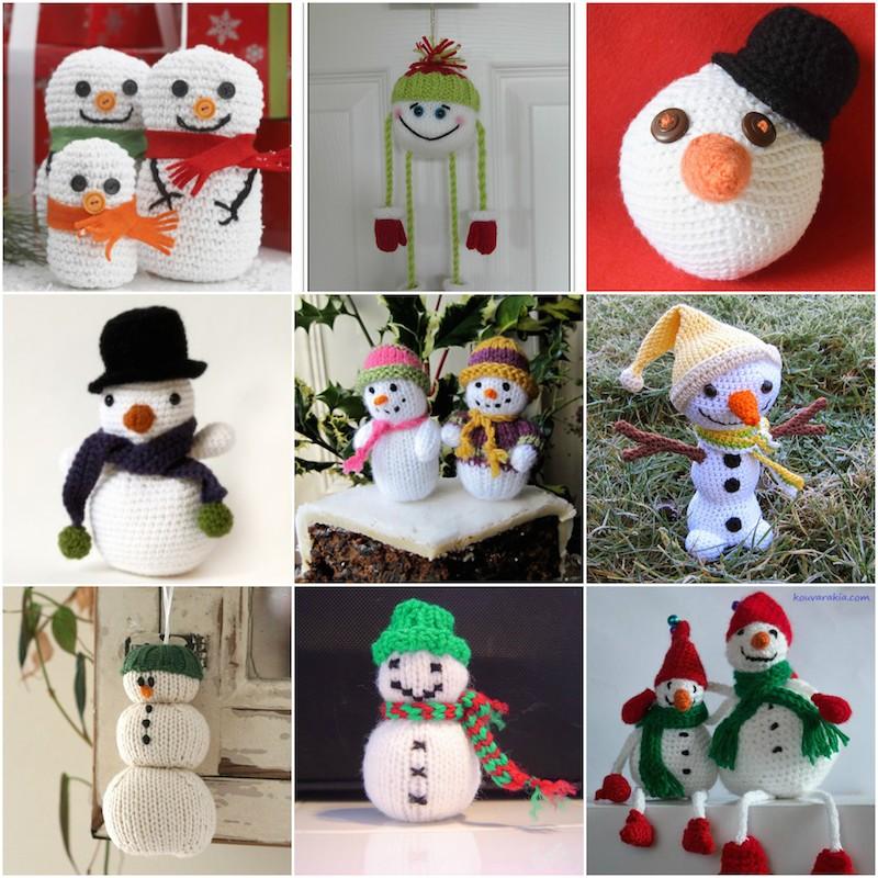 12 Cute Free Christmas Ornament Crochet Patterns   Christmas ...   800x800