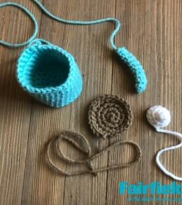Cocoa Mug Ornament Pieces