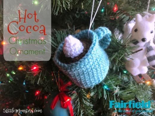 Hot Cocoa Christmas Ornament