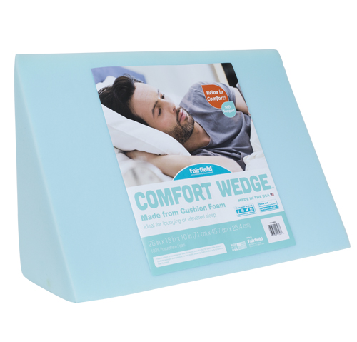 Comfort wedge for relaxation and elevated sleep