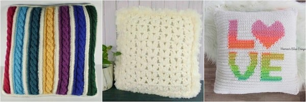 Cuddle Up With 40 Free Crochet And Knit Pillow Patterns Fairfield