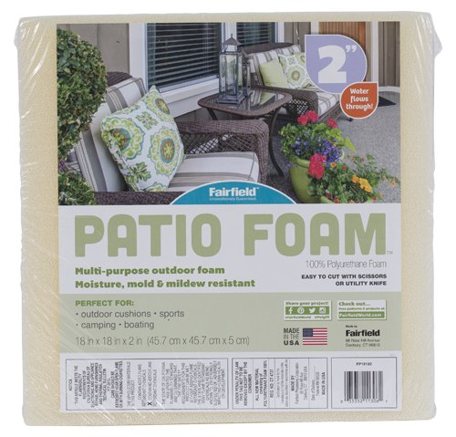 Fairfield Patio Foam™ – 18″ x 18″ x 2″
