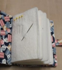 Sewing Needle Journal Book Hero