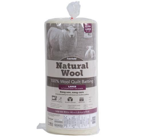 Fairfield Natural Wool – Queen Size 90″ x 108″