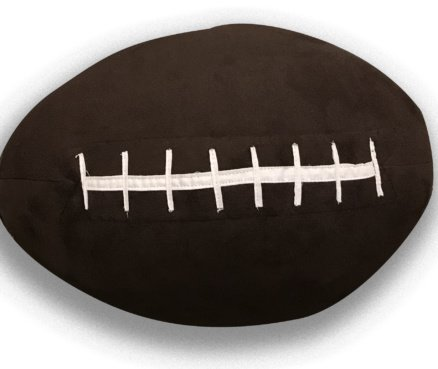 Squishy Football Pillow