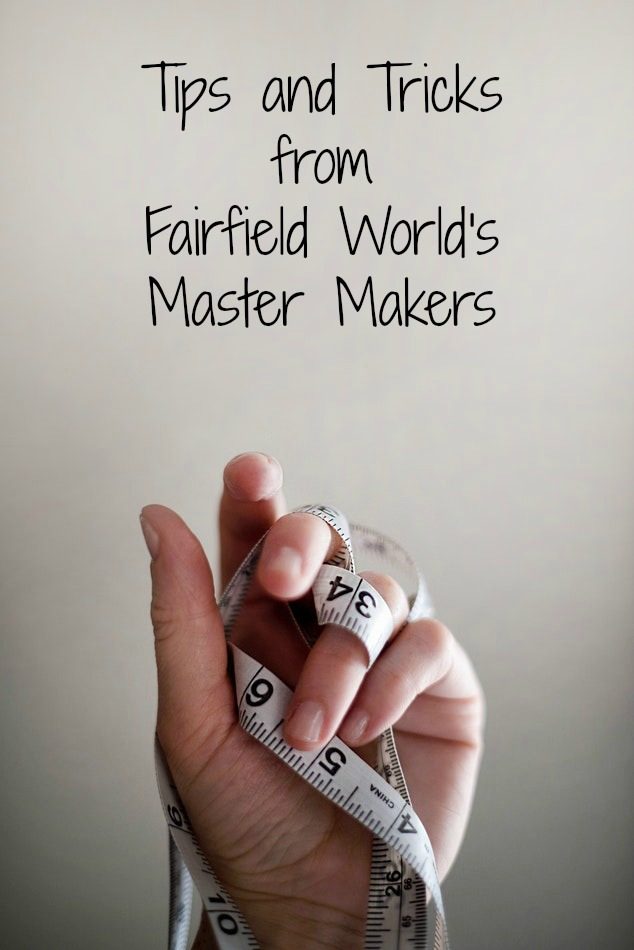 Tips and Tricks from Our Master Makers