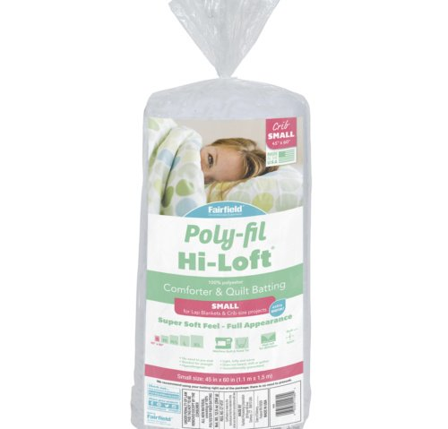 Poly-Fil Hi-Loft® Batting 45″ x 60″