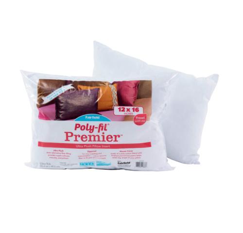 Poly-Fil® Premier™ Travel Pillow Insert 12″ x 16″