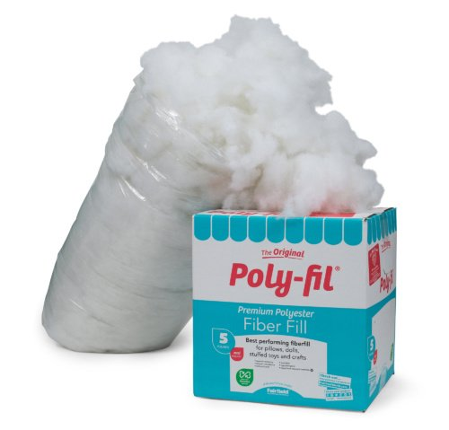 Poly-Fil® Premium Fiber Fill 5 pound Box