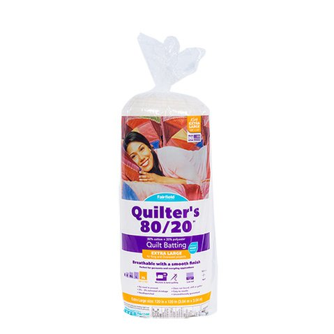Quilters 80/20™ Batting 120″ x 120″