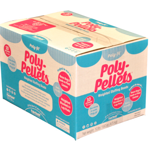 Poly-Fil® Poly Pellets® Weighted Stuffing Beads 10 pound Box