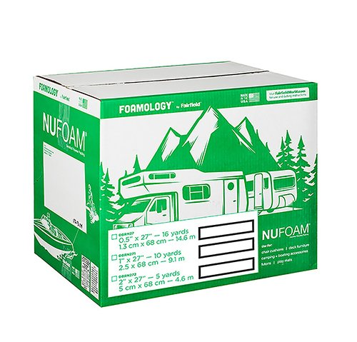 "NuFoam™ Pad – 27″ x 16 Yards x ½"" thick"