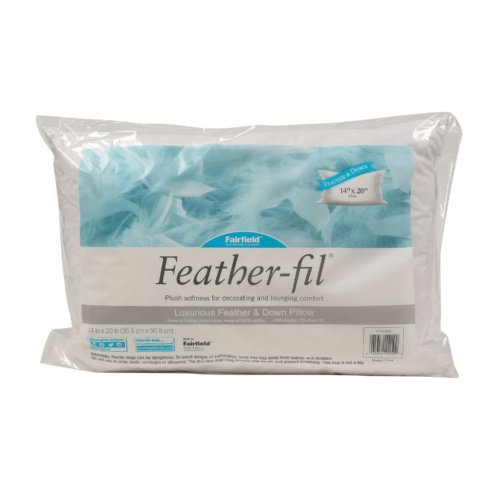Feather-fil® Pillow – 14″ x 20″ Rectangle
