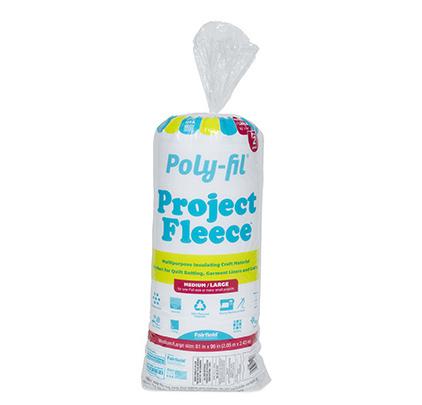 Poly-Fil® Project Fleece™ Batting 81″ x 96″