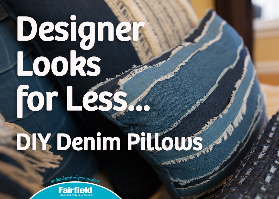 Designer Denim Pillows