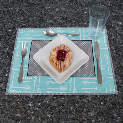 Kitchen Quilted Placemats lay the foundation for a great table setting