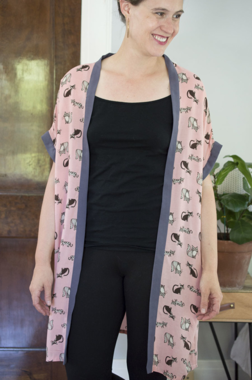 Simple Robe-Simple Pattern for Ultimate Relaxation