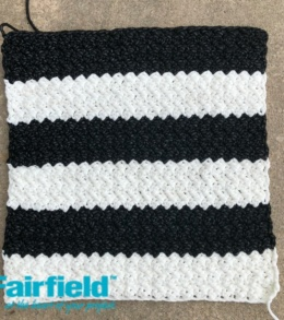Striped Pillow Front