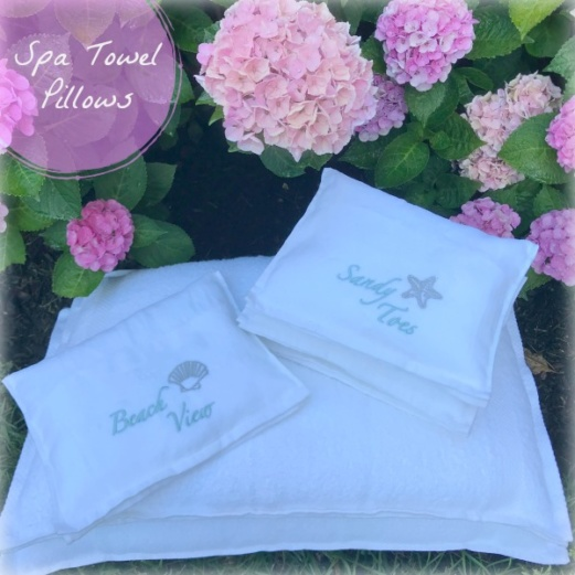Spa Towel Pillows