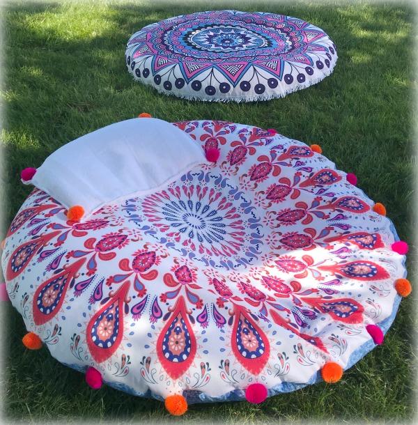 Cosmic Mandala Cushions Fairfield World Craft Projects