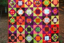 Charming Halloween Quilt