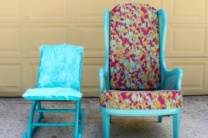Furniture Flip:  Chair Makeover in a Day