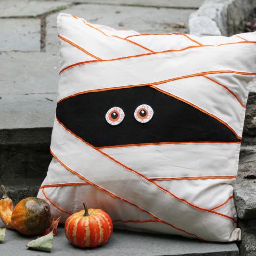 Boo Mummy Pillow
