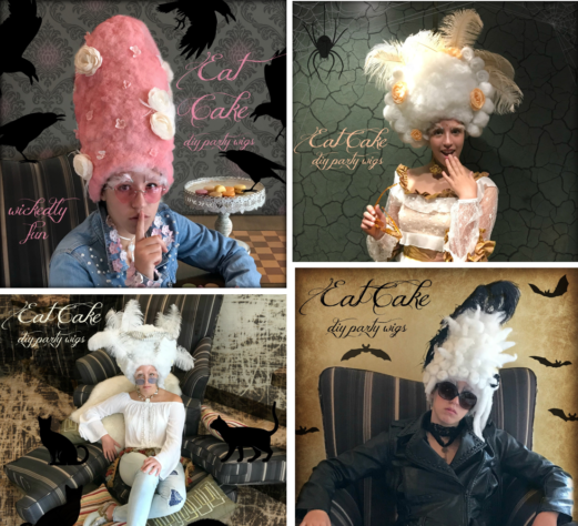 Eat Cake Party Wigs