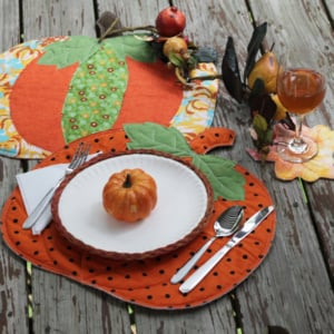 Picnic Pumpkin Placemat Picnic