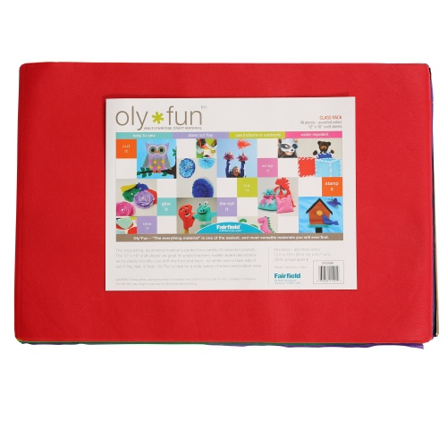 Oly-Fun® Multi-color Variety Class Pack – 48 pieces of 12″ x 18″