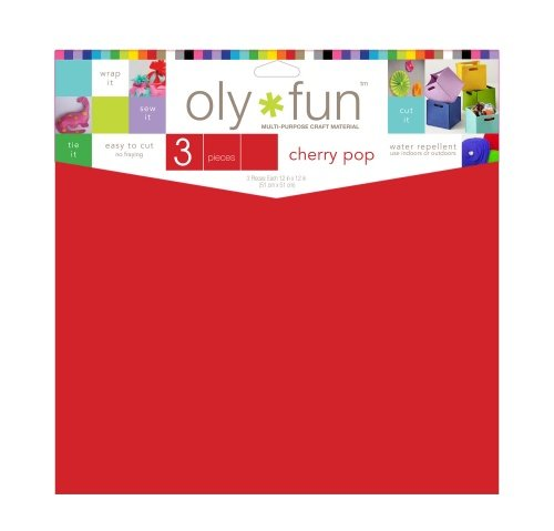 Oly-Fun® Craft Sheets – Cherry Pop – 18 pieces