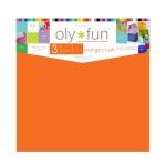 Oly-Fun® Craft Sheets – Orange Crush – 18 pieces