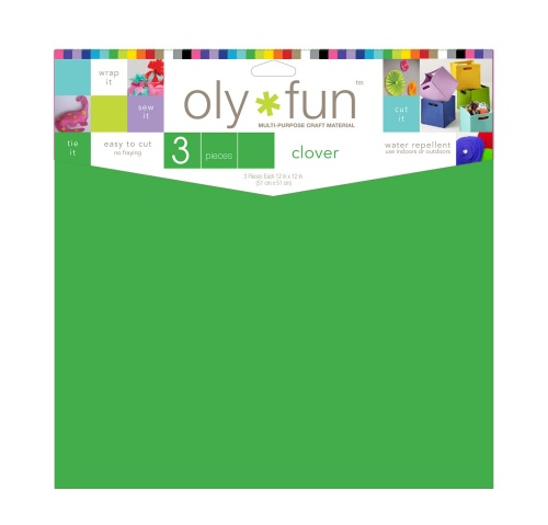 Oly-Fun® Craft Sheets – Clover – 18 pieces