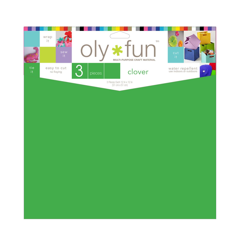 Clover Green Oly*fun non woven material