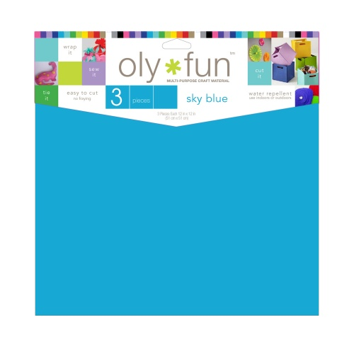 Oly-Fun® Craft Sheets – Sky Blue – 18 pieces