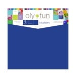 Oly-Fun™ Craft Sheets – Blueberry – 18 pieces