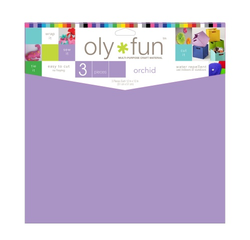 Oly-Fun® Craft Sheets – Orchid – 18 pieces