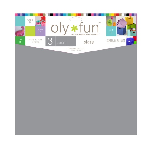 Oly-Fun® Craft Sheets – Slate – 18 pieces