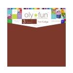 Oly-Fun® Craft Sheets – Hot Fudge – 18 pieces