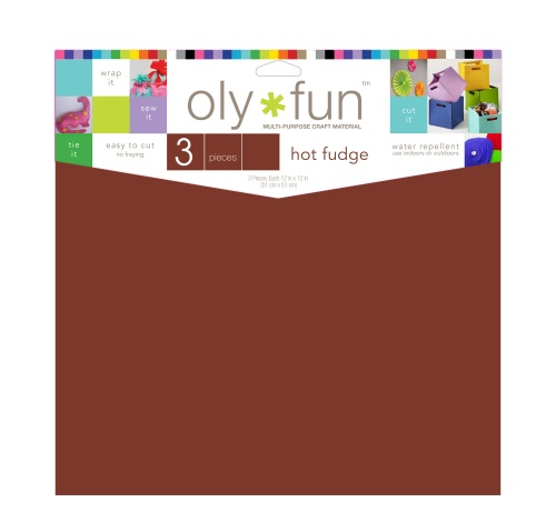 Oly-Fun® Craft Sheets – Hot Fudge – 18 pieces