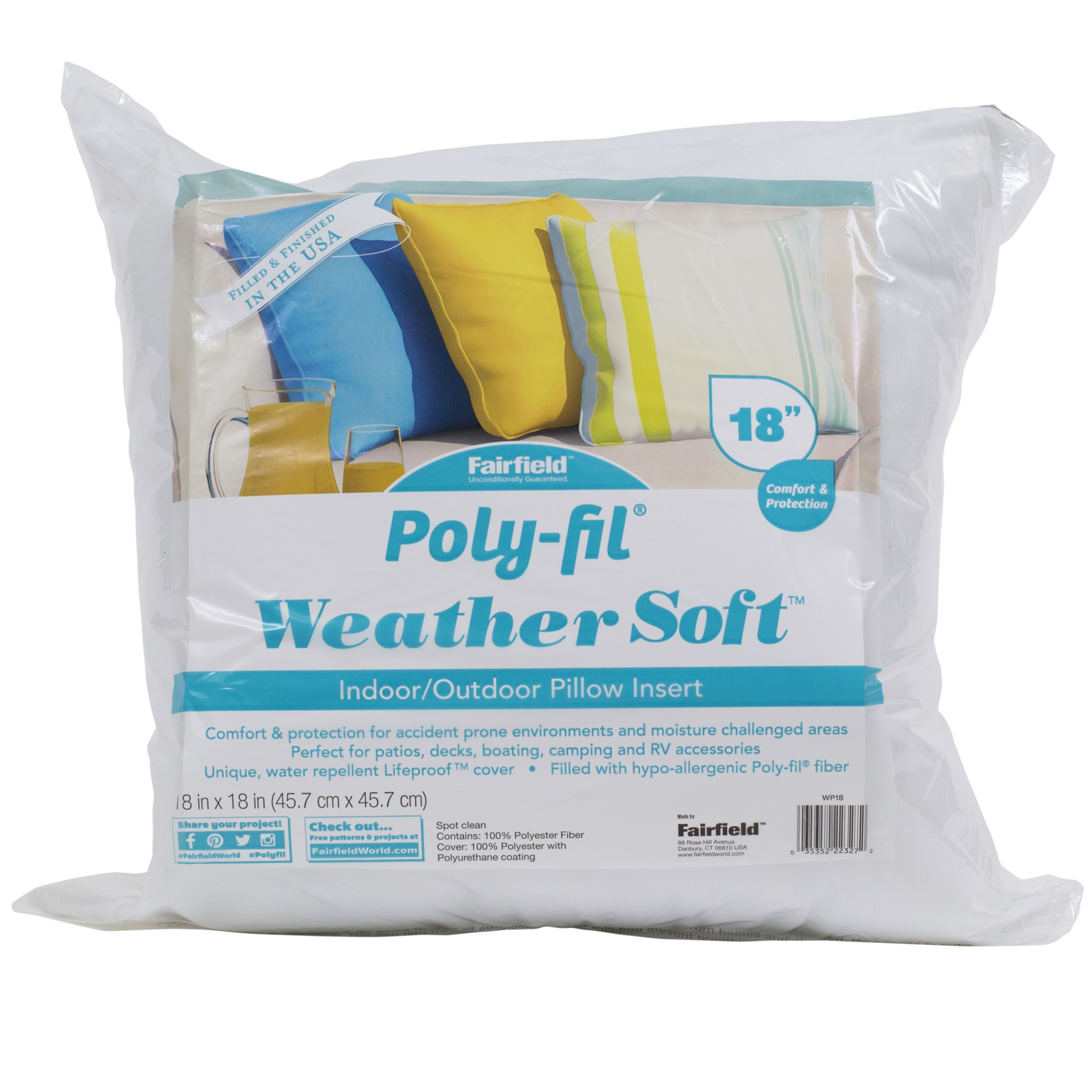 Weather Soft Pillow 18""