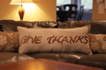 """Thankful"" Decorative Pillows"