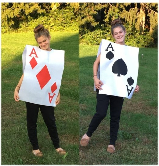 Easy Playing Card Costume