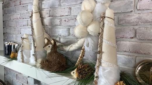 Winter Wonderland Wreath & Trees