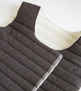 Funnel Neck Vest DIY A HAPPY STITCH 12