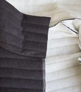 Funnel Neck Vest DIY A HAPPY STITCH 15