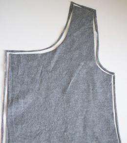 Funnel Neck Vest DIY A HAPPY STITCH 17