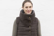Toasty Warm Funnel Neck Vest