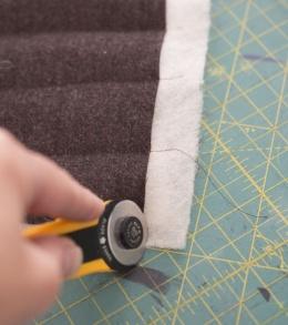 Funnel Neck Vest DIY A HAPPY STITCH 9